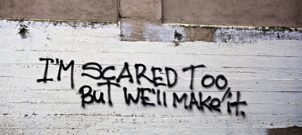 I'm Scared Too But We'll Make It by Christopher Cotrell