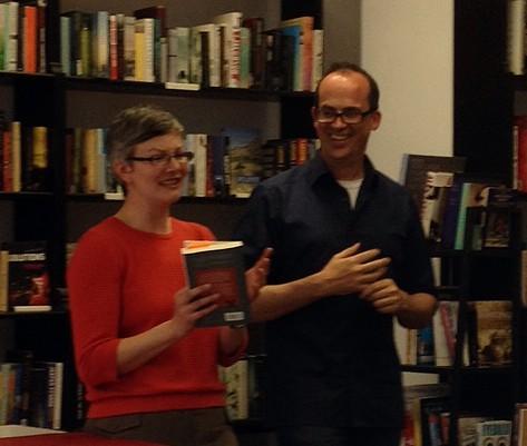Author event at Books Books Books, Lausanne